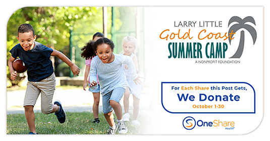OneShare Health Partners With Larry Little Foundation